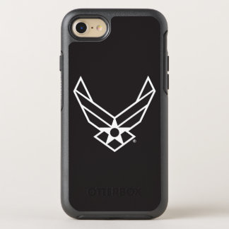 United States Air Force Logo - Black OtterBox Symmetry iPhone 7 Case