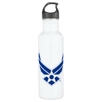United States Air Force Logo - Blue 710 Ml Water Bottle