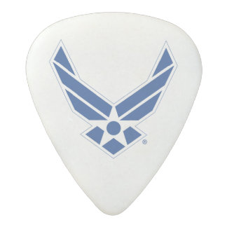 United States Air Force Logo - Blue Acetal Guitar Pick