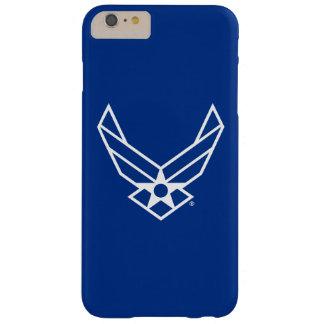 United States Air Force Logo - Blue Barely There iPhone 6 Plus Case