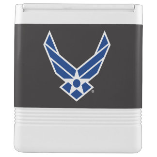 United States Air Force Logo - Blue Cooler