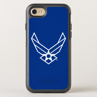 United States Air Force Logo - Blue OtterBox Symmetry iPhone 7 Case