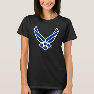 United States Air Force Logo - Blue T-Shirt