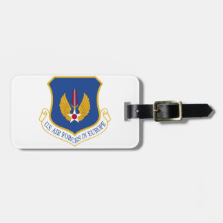United States Air Forces in Europe Emblem Tags For Bags