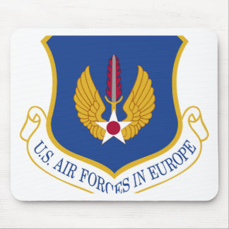 United States Air Forces in Europe Emblem Mouse Pad