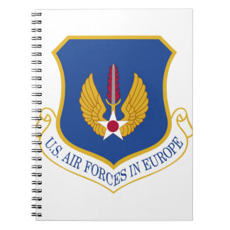 United States Air Forces in Europe Emblem Note Book