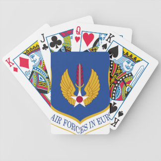 United States Air Forces in Europe Emblem Card Deck