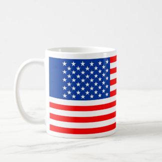 united states america country flag usa symbol basic white mug