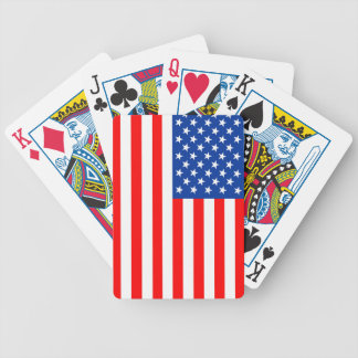united states america country flag usa symbol bicycle playing cards