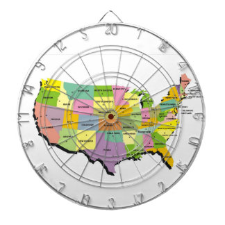 united states america country map dart board