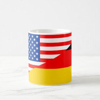 united states america germany half flag usa countr coffee mug