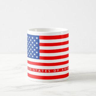 united states america usa country flag text name mugs
