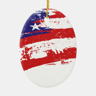 United States American Star Flag USA US Ornament