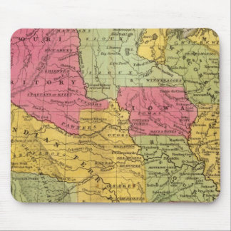 United States and Mexico Mouse Pad