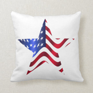 United States and Pledge Throw Pillow