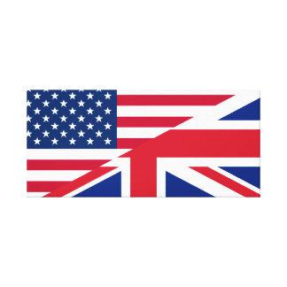 United States And United Kingdom Canvas Print