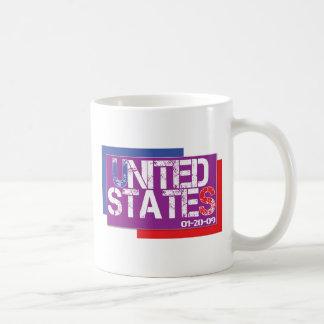 United States Are Purple Basic White Mug