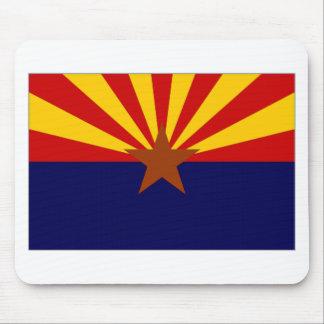 United States Arizona Flag Mouse Pad