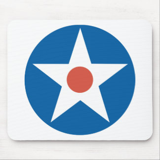 United States Army Air Corps Roundel Mousepad