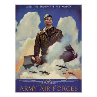 United States Army Air Forces Poster