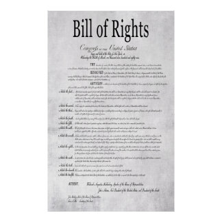 UNITED STATES BILL of RIGHTS 1 Print