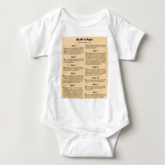 United States Bill of Rights Baby Bodysuit