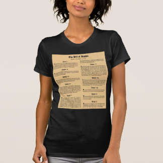 United States Bill of Rights T-shirt