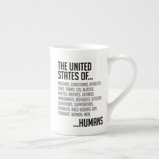 United States Bone China Mug