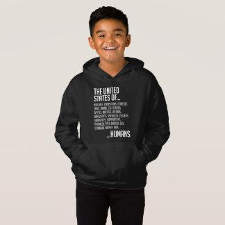United States Boy's Dark Hoodie