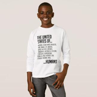 United States Boy's Long Sleeve T-Shirt