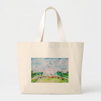united states capitol large tote bag