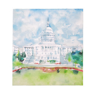 united states capitol notepad
