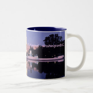 United States Capitol Two-Tone Coffee Mug