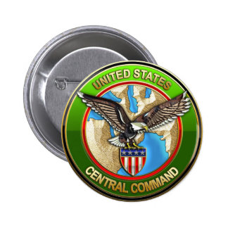 United States Central Command 6 Cm Round Badge