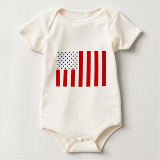 United States Civil Flag Sons of Liberty Variation Baby Bodysuit