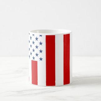 United States Civil Flag Sons of Liberty Variation Basic White Mug