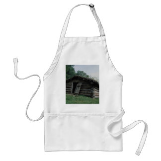 United States Civil War hut, Valley Forge, Pennsyl Aprons