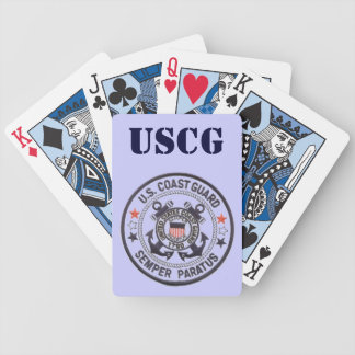 United States Coast Guard Bicycle Poker Deck