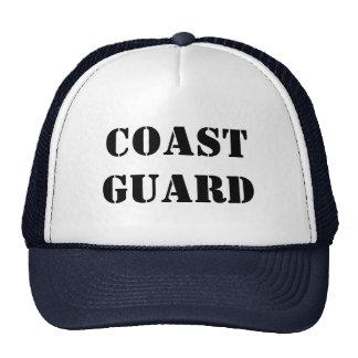 UNITED STATES COAST GUARD  BY WASTELANDMUSIC.COM MESH HATS