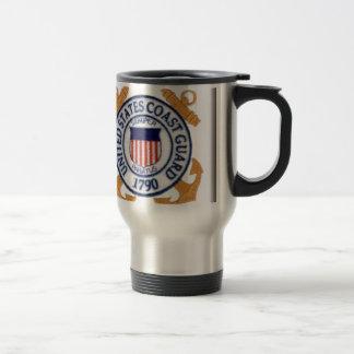 United States Coast Guard Emblem Coffee Mugs