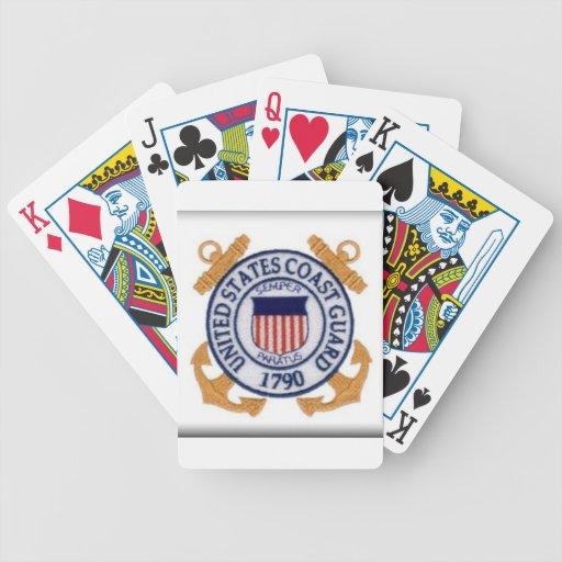 United States Coast Guard Emblem Deck Of Cards