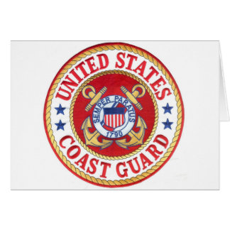 united states coast guard greeting card