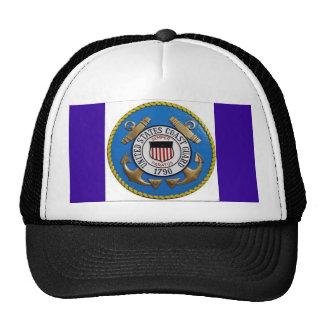 UNITED STATES COAST GUARD INSIGNIA MESH HATS