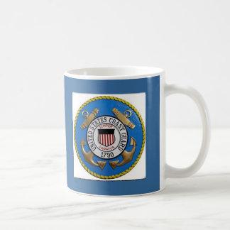 UNITED STATES COAST GUARD INSIGNIA COFFEE MUG
