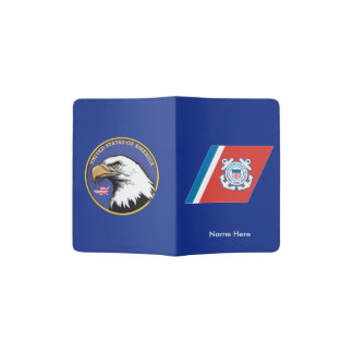 United States Coast Guard Passport Cover