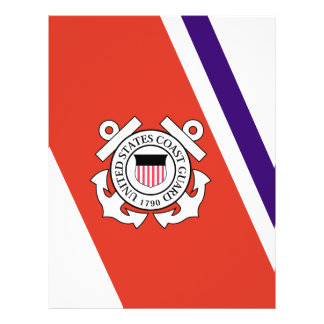 United States Coast Guard Racing Stripe - Left Flyer