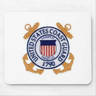 United States Coast Guard Seal Mouse Pad