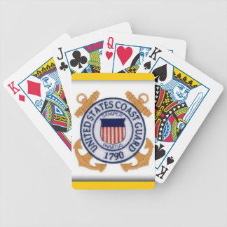 United States Coast Guard Seal Playing Cards