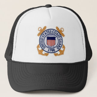 United States Coast Guard Seal Trucker Hat