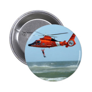 United States Coast Guard Search and Rescue 6 Cm Round Badge